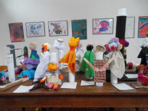 Children's Art Exhibit - NewBrook & Townshend Elementary Schools